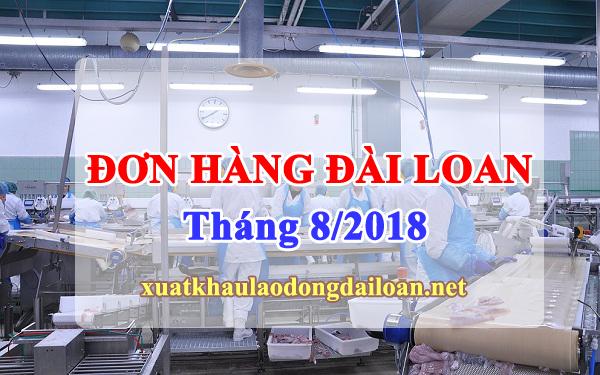 don hang xkld dai loan thang 8