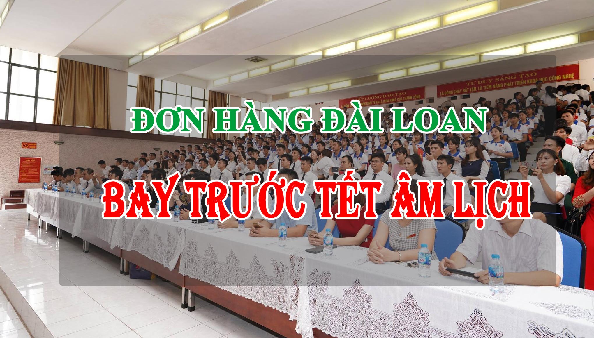 don hang xuat khau lao dong dai loan bay truoc tet
