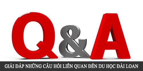 giải đáp câu hỏi du học đài loan