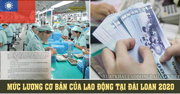 muc luong co ban xkld dai loan 2020